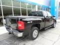 2011 Black Chevrolet Silverado 1500 Extended Cab 4x4  photo #4