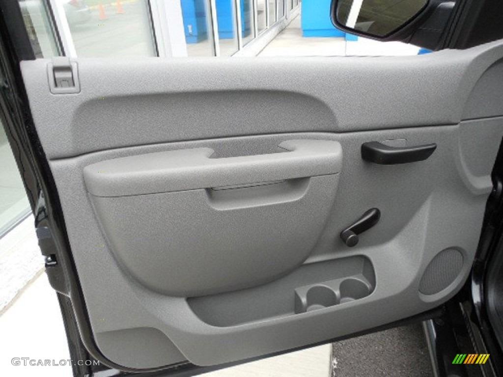 2011 Silverado 1500 Extended Cab 4x4 - Black / Dark Titanium photo #11