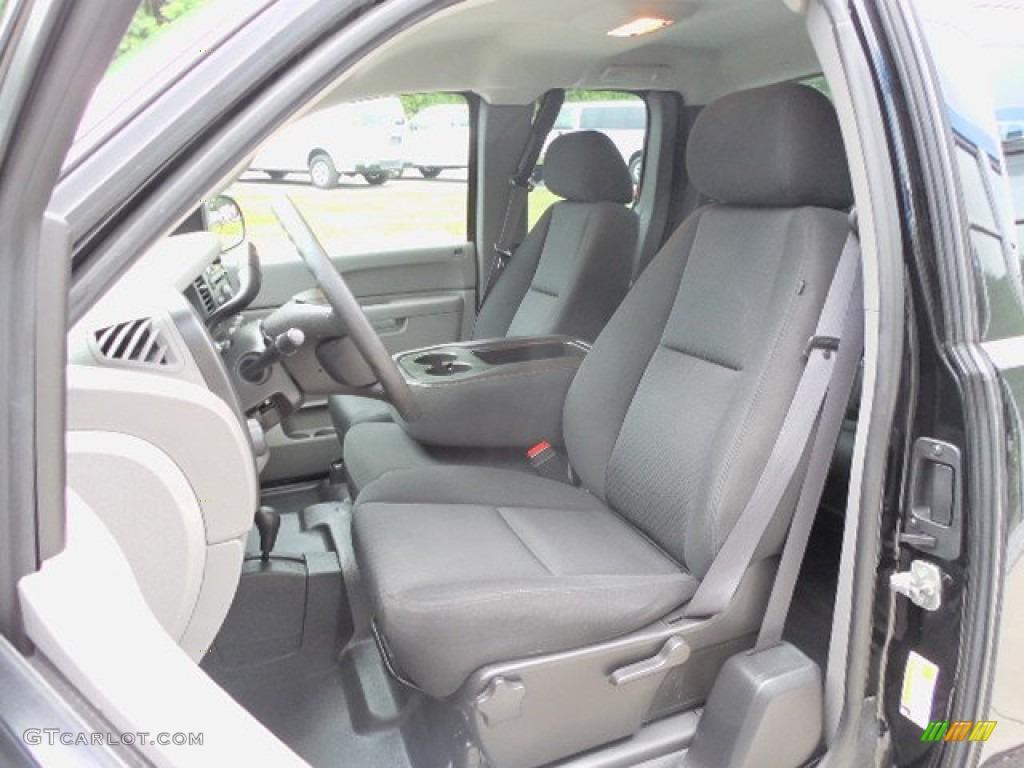 2011 Silverado 1500 Extended Cab 4x4 - Black / Dark Titanium photo #12