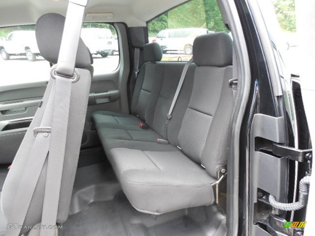 2011 Silverado 1500 Extended Cab 4x4 - Black / Dark Titanium photo #13