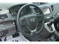 2012 White Diamond Pearl Honda CR-V EX-L  photo #30