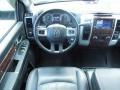2010 Brilliant Black Crystal Pearl Dodge Ram 3500 Laramie Crew Cab Dually  photo #6