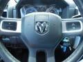 2010 Brilliant Black Crystal Pearl Dodge Ram 3500 Laramie Crew Cab Dually  photo #22
