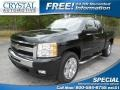 2009 Black Granite Metallic Chevrolet Silverado 1500 LT Extended Cab 4x4 #82390078