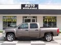 2012 Mocha Steel Metallic Chevrolet Silverado 1500 LT Crew Cab  photo #1