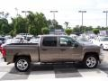 2012 Mocha Steel Metallic Chevrolet Silverado 1500 LT Crew Cab  photo #3