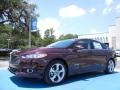 2013 Bordeaux Reserve Red Metallic Ford Fusion Hybrid SE  photo #1