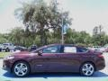 2013 Bordeaux Reserve Red Metallic Ford Fusion Hybrid SE  photo #2