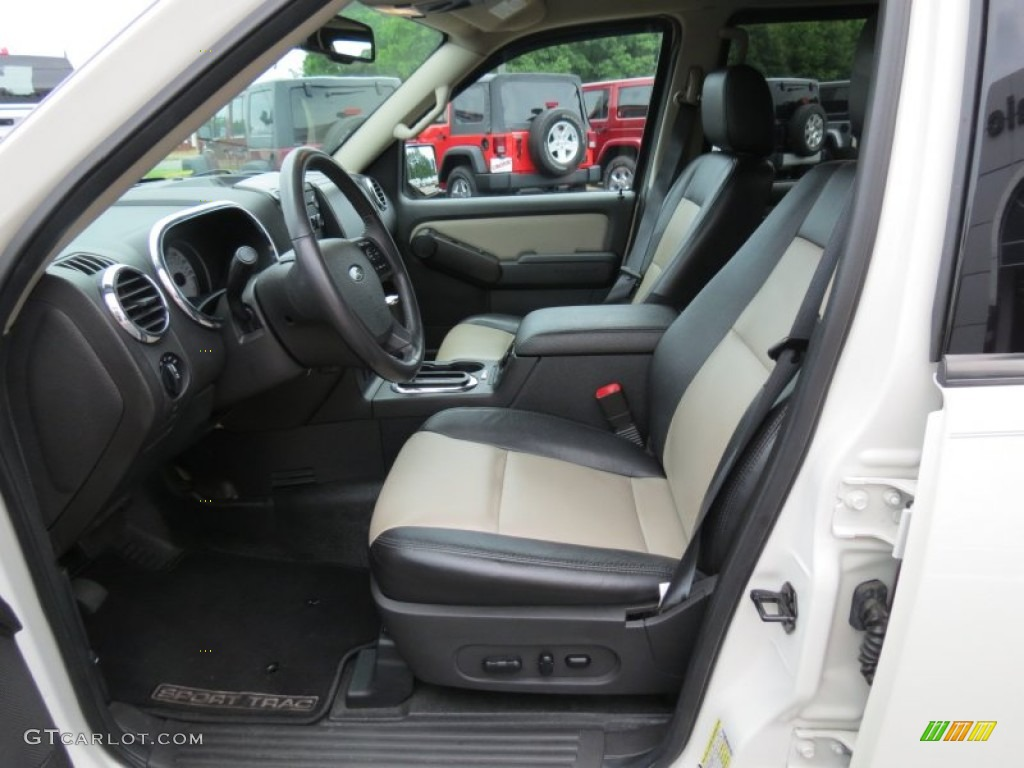 2008 Ford Explorer Sport Trac Limited Front Seat Photo