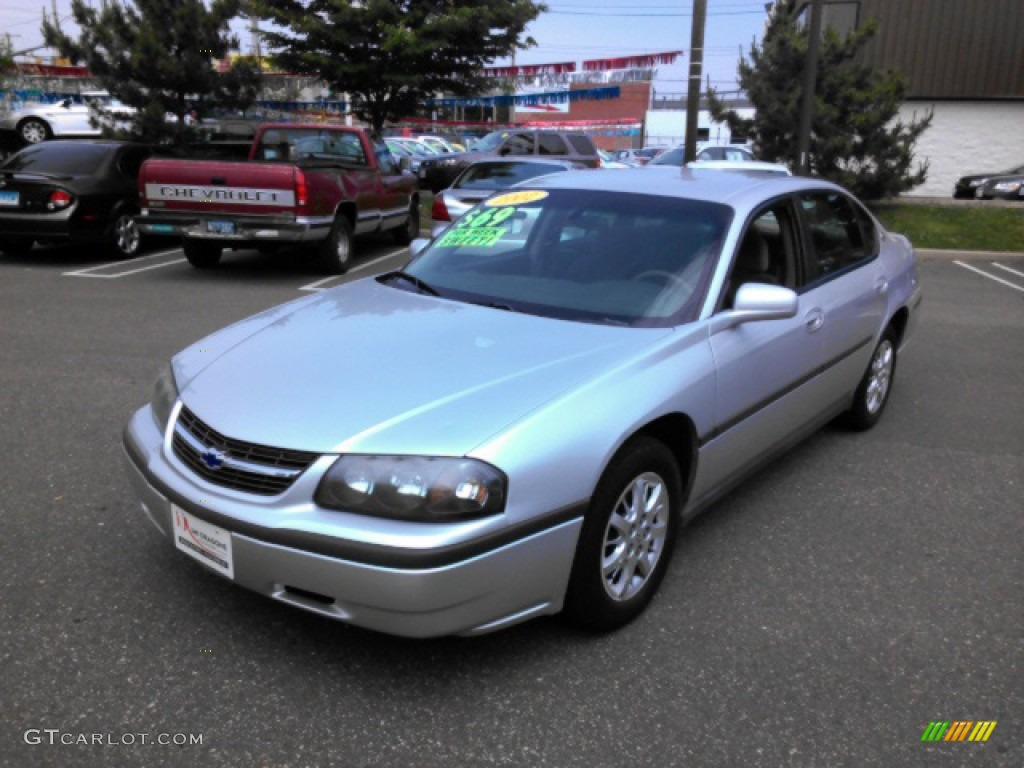 2002 galaxy silver metallic chevrolet impala 82446729 car color galleries. Black Bedroom Furniture Sets. Home Design Ideas