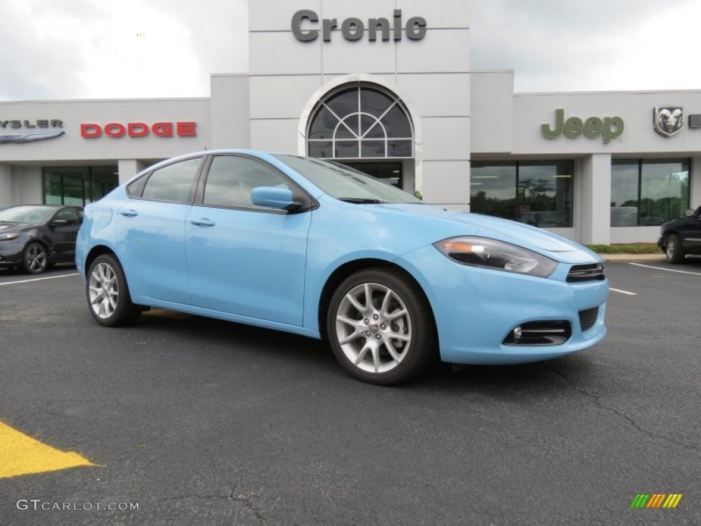 2013 laguna blue dodge dart sxt 82446623. Black Bedroom Furniture Sets. Home Design Ideas