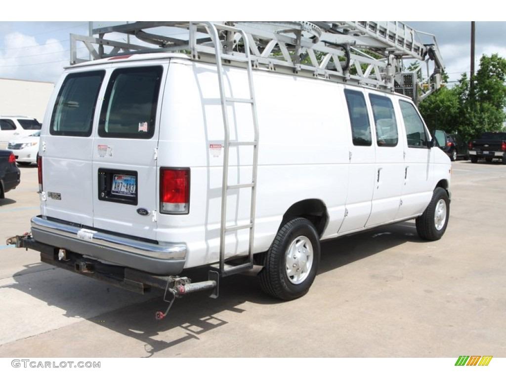 oxford white 2000 ford e series van e350 commercial van. Black Bedroom Furniture Sets. Home Design Ideas