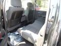 Jet Black Rear Seat Photo for 2014 GMC Sierra 1500 #82469576