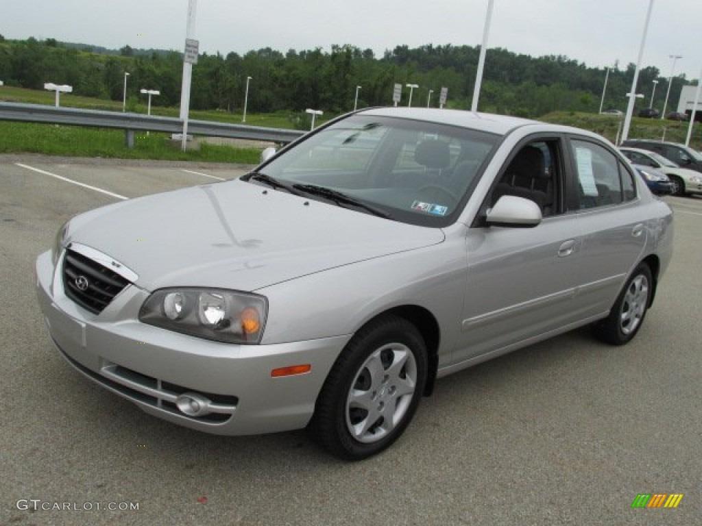 Sterling Silver 2006 Hyundai Elantra Gls Sedan Exterior