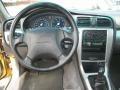 2003 Subaru Baja Gray Interior Dashboard Photo
