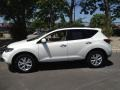 2011 Glacier White Pearl Nissan Murano SV AWD  photo #4