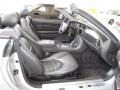 2006 Jaguar XK Charcoal Interior Front Seat Photo