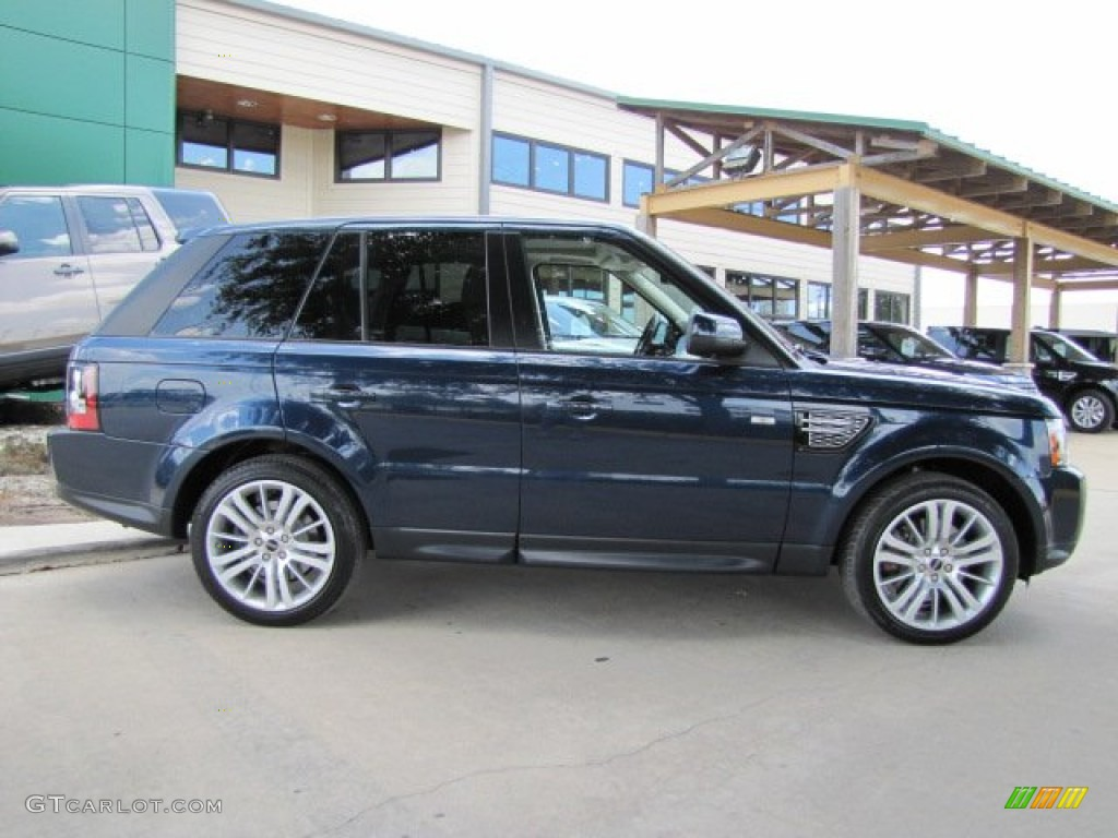 buckingham blue metallic 2012 land rover range rover sport. Black Bedroom Furniture Sets. Home Design Ideas