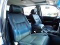 2010 Toyota Tundra Black Interior Front Seat Photo