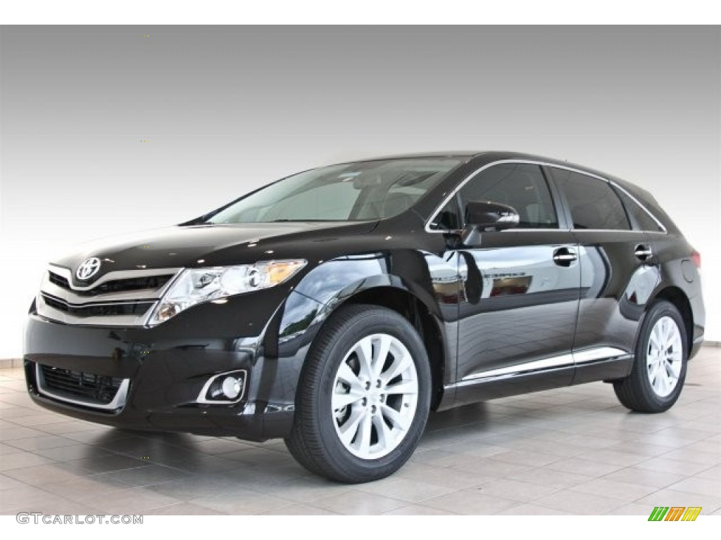 attitude black metallic 2013 toyota venza xle exterior. Black Bedroom Furniture Sets. Home Design Ideas