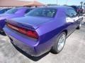 2013 Plum Crazy Pearl Dodge Challenger R/T Plus  photo #2
