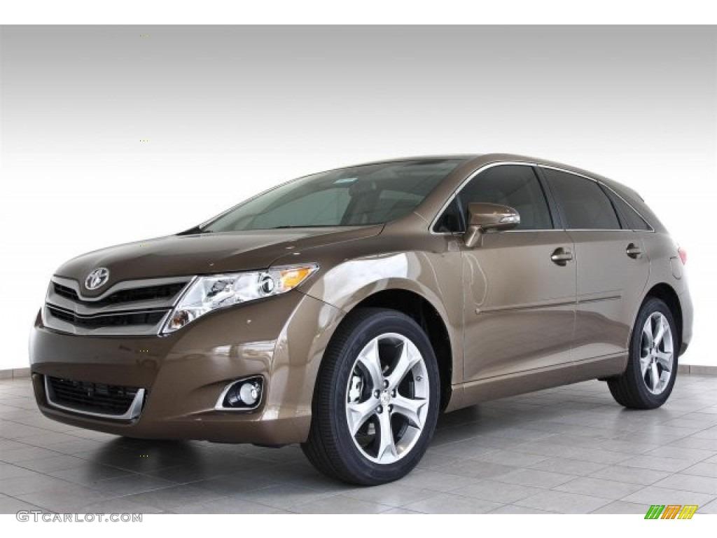 2013 Sunset Bronze Metallic Toyota Venza Le 82501021