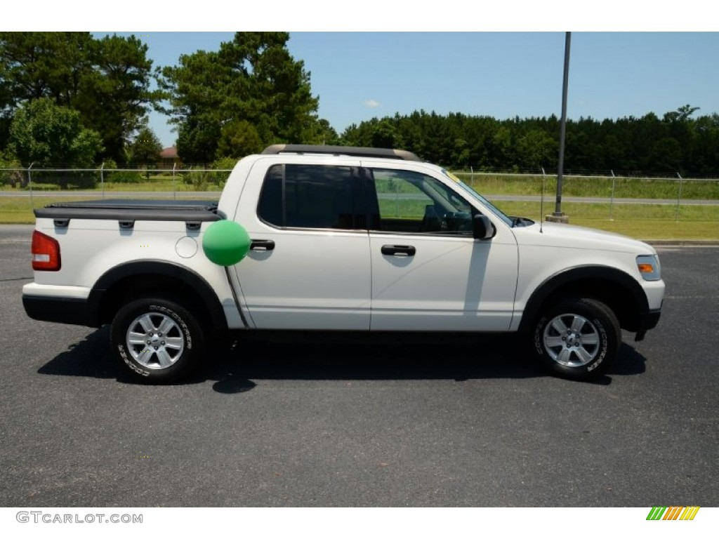 white suede 2008 ford explorer sport trac xlt 4x4 exterior photo 82512517. Black Bedroom Furniture Sets. Home Design Ideas