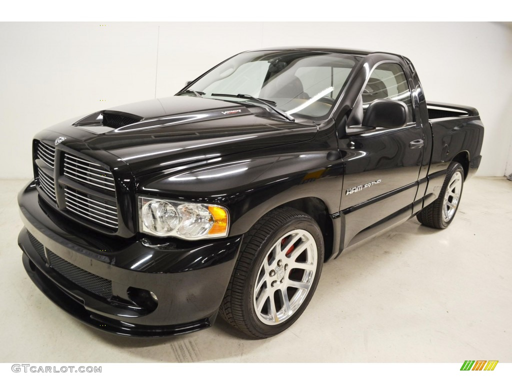 black 2005 dodge ram 1500 srt 10 regular cab exterior photo 82515866. Black Bedroom Furniture Sets. Home Design Ideas
