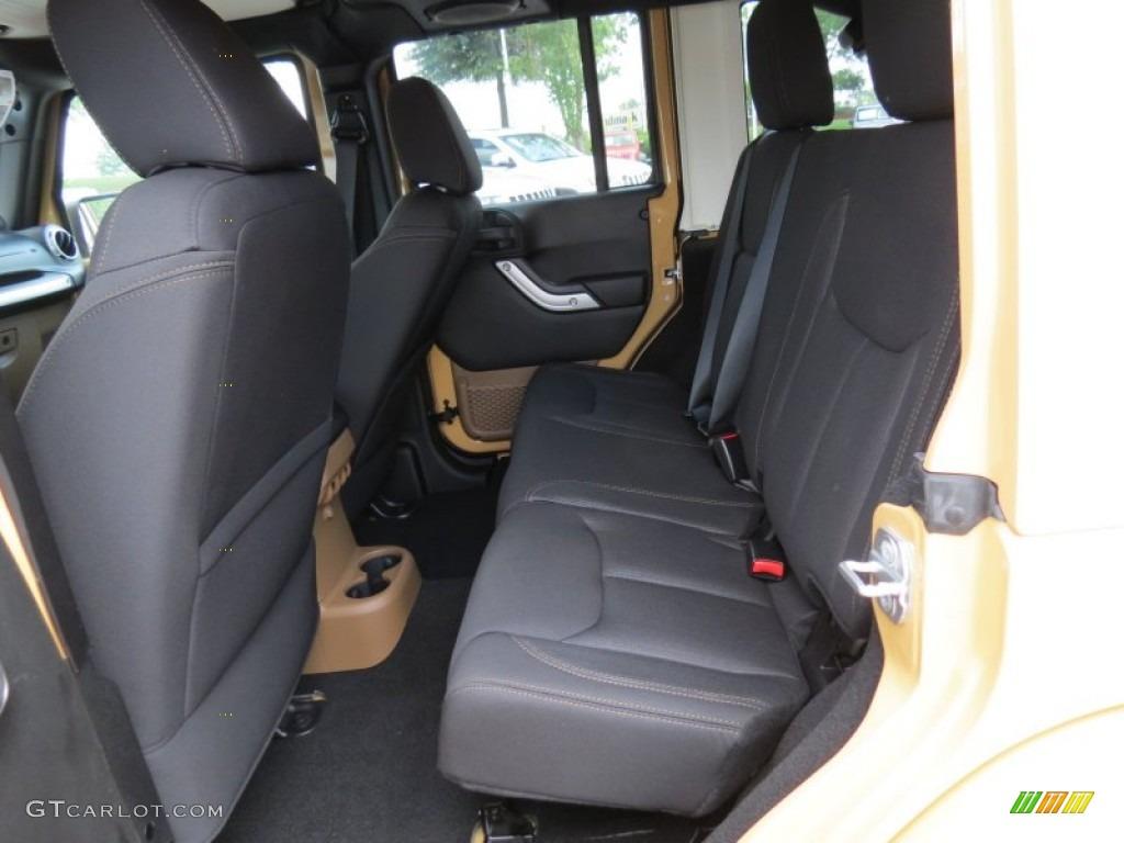 Black Dark Saddle Interior 2013 Jeep Wrangler Unlimited Sahara 4x4 Photo 82516390