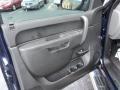 2012 Imperial Blue Metallic Chevrolet Silverado 1500 LS Extended Cab  photo #7