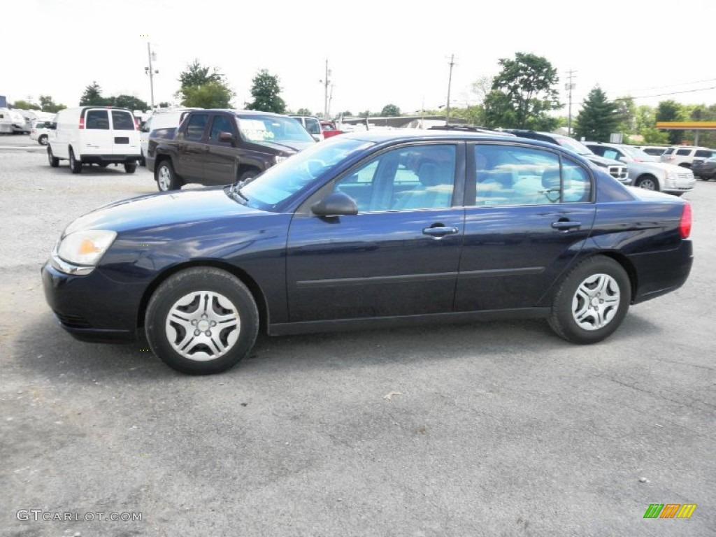 Dark Blue Metallic 2005 Chevrolet Malibu Sedan Exterior