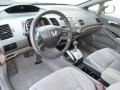 Gray 2008 Honda Civic Interiors