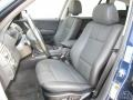 2005 BMW X3 Black Interior Front Seat Photo