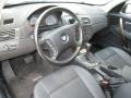 2005 BMW X3 Black Interior Prime Interior Photo