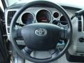 2008 Toyota Tundra Graphite Gray Interior Steering Wheel Photo