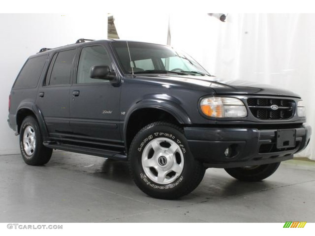 Deep wedgewood blue metallic 2000 ford explorer limited - Ford explorer exterior dimensions ...