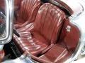 1958 Mercedes-Benz 300SL Roadster, Silver Blue / Burgundy, Drivers Seat