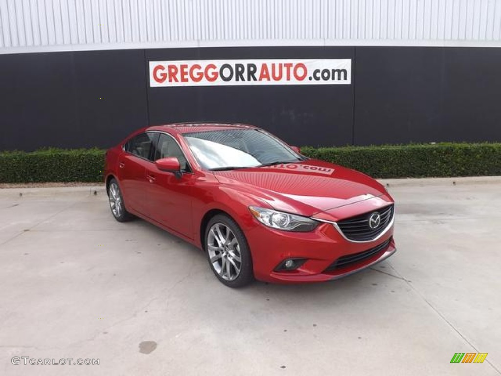 2014 soul red mica mazda mazda6 grand touring 82500725 car color galleries. Black Bedroom Furniture Sets. Home Design Ideas