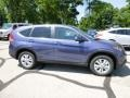 2013 Twilight Blue Metallic Honda CR-V EX AWD  photo #2