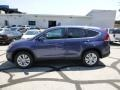 2013 Twilight Blue Metallic Honda CR-V EX AWD  photo #6