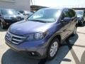 2013 Twilight Blue Metallic Honda CR-V EX AWD  photo #7
