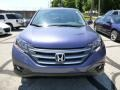 2013 Twilight Blue Metallic Honda CR-V EX AWD  photo #8