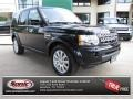Buckingham Blue Metallic 2012 Land Rover LR4 HSE LUX