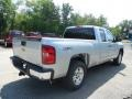 2013 Silver Ice Metallic Chevrolet Silverado 1500 LT Extended Cab 4x4  photo #7