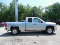 2013 Silver Ice Metallic Chevrolet Silverado 1500 LT Extended Cab 4x4  photo #8