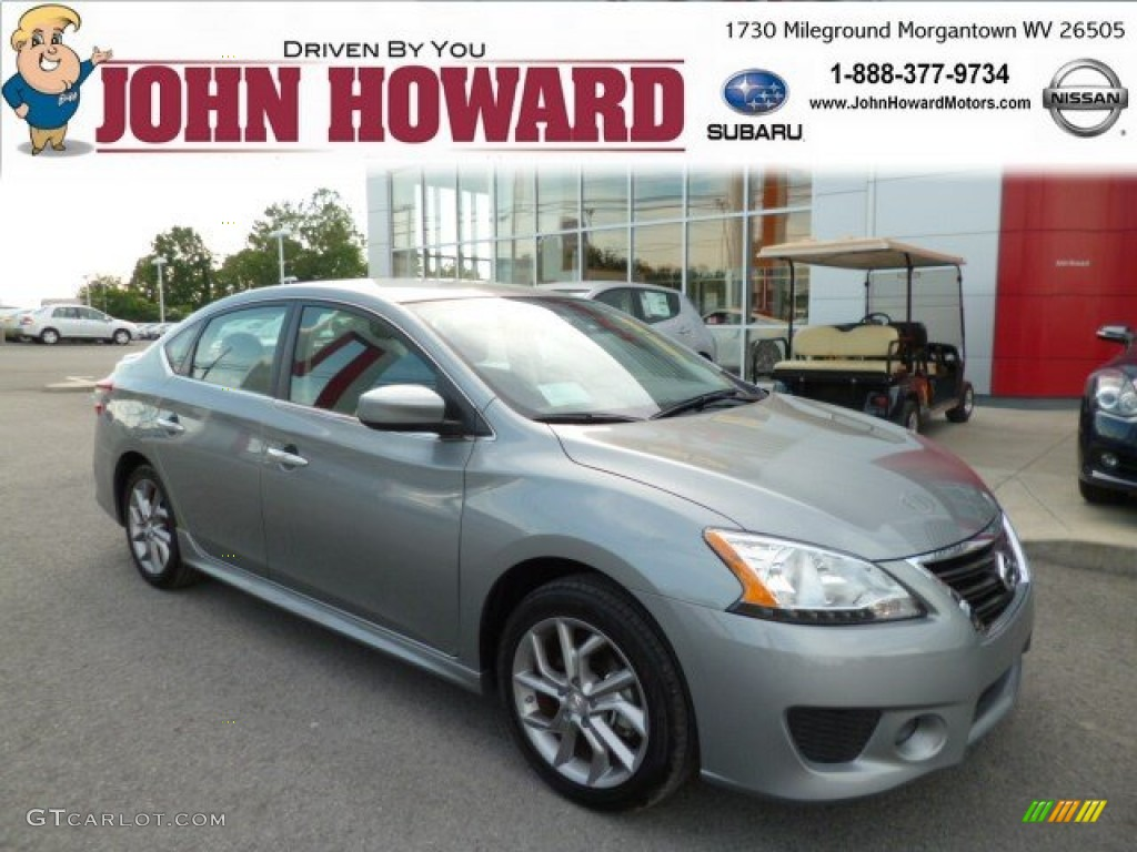 2013 Magnetic Gray Metallic Nissan Sentra Sr 82554263