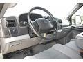 2005 Ford F250 Super Duty Medium Flint Interior Dashboard Photo