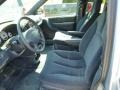 2003 Chrysler Voyager Navy Blue Interior Front Seat Photo