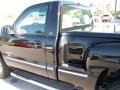 2000 Onyx Black Chevrolet Silverado 1500 LS Regular Cab 4x4  photo #9