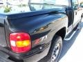 2000 Onyx Black Chevrolet Silverado 1500 LS Regular Cab 4x4  photo #11
